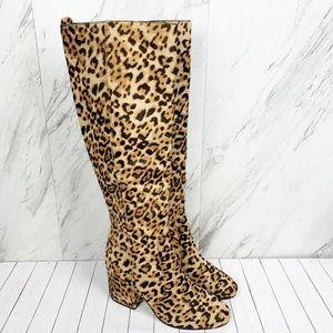 🆕Sam Edelman Sand Leopard Thora Knee High Boots